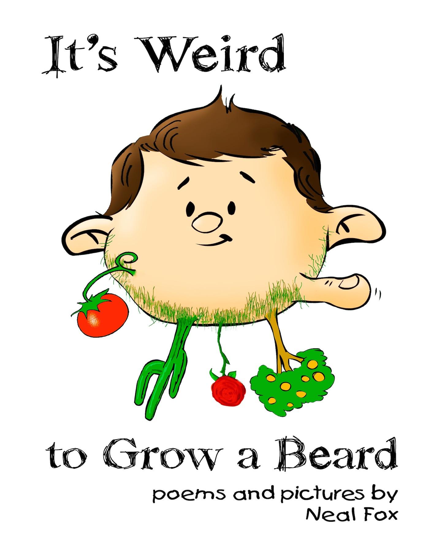 It's Weird to Grow a Beard - Book Cover