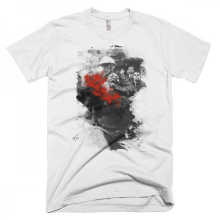 Police Brutality - White Short sleeve men's t-shirt
