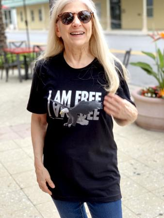 Namo I AM FREE Shirt smaller